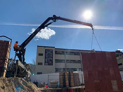 Commercial Concrete Projects Services | Arcana Building Company Ltd.