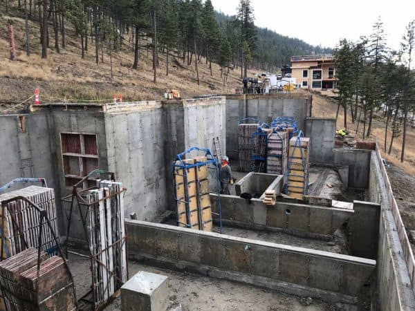 Residential Concrete Project Foundation | Arcana Building Company