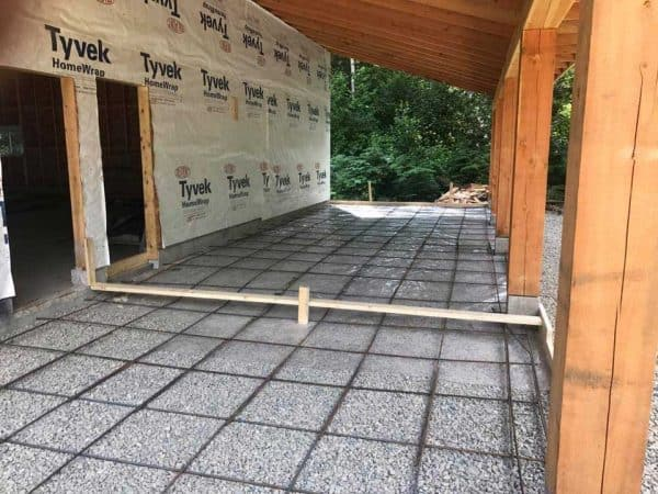 Residential Concrete Garage Project | Arcana Building Company