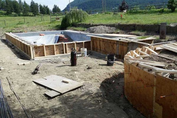 Residential Concrete Pool Project | Arcana Building Company